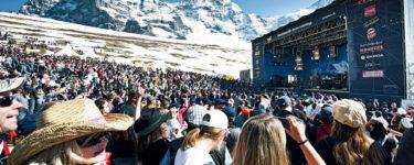 Musik Konzert auf der Kleine Scheidegg