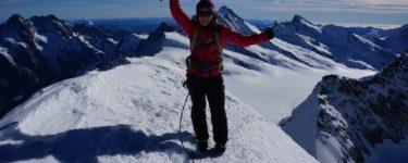 Mountaineering-Justine-Glacier-Grindelwald