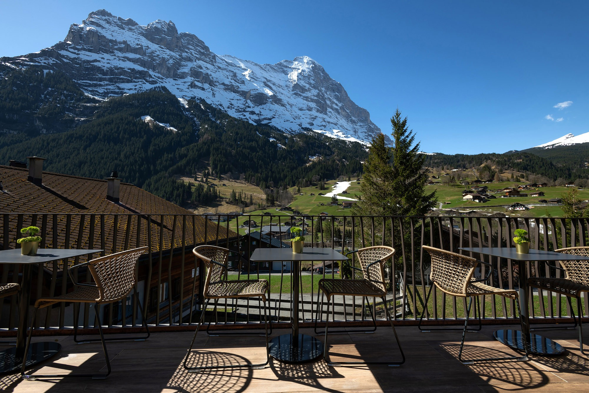 Restaurant at Boutique Hotel and Restaurant Glacier Grindelwald