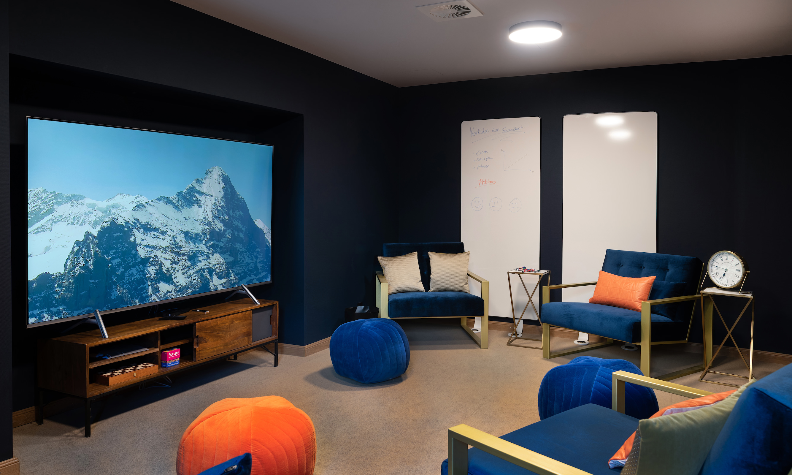Meeting room at Boutique Hotel and Restaurant Glacier Grindelwald