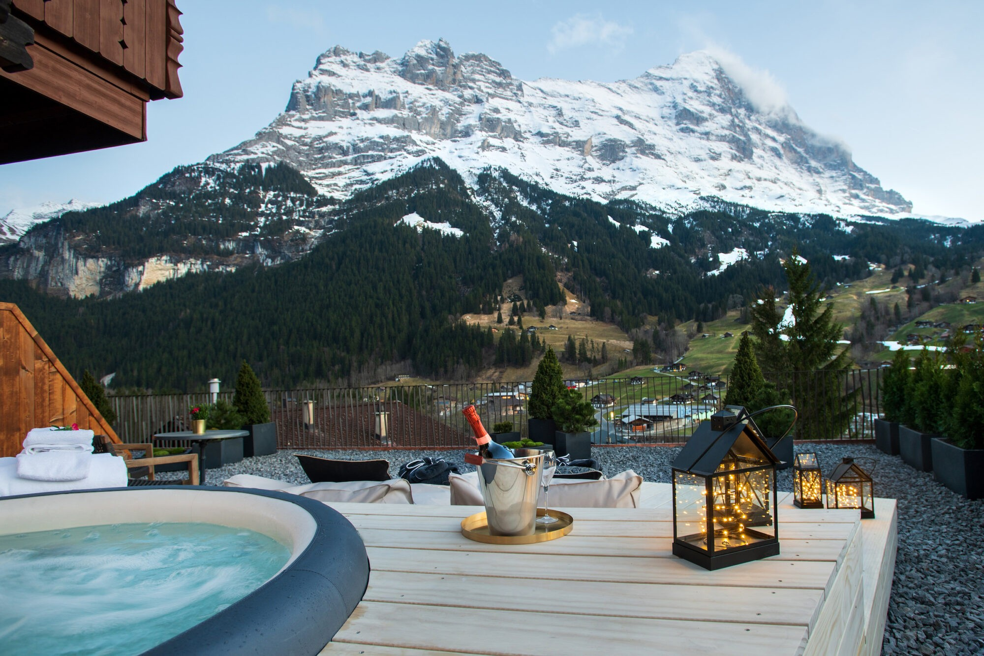 Honeymoon Suite at Boutique Hotel and Restaurant Glacier Grindelwald